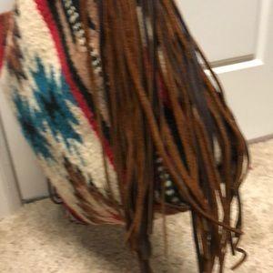 Bags - Custom large saddle blanket tote